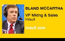 2012 NAB Show, Bland McCartha, hVault