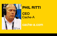 2011 NAB Show - Phil Ritti, Cache-A