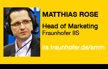 2011 NAB Show - Matthias Rose, Fraunhofer IIS