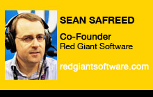 2011 NAB Show - Sean Safreed, Red Giant Software