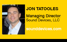 2012 NAB Show - Jon Tatooles, Sound Devices, LLC