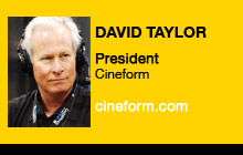 2011 NAB Show - David Taylor, Cineform