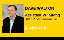 2012 NAB Show - Dave Walton, JVC Professional Company