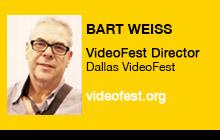 2012 NAB Show, Bart Weiss, Dallas VideoFest