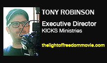 Tony Robinson, KICKS Ministries