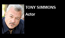 Tony Simmons, Actor