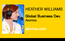 Heather Williams, Atomos