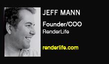Jeff Mann, RenderLife