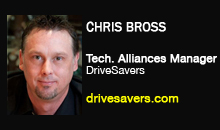 Chris Bross, DriveSavers
