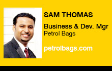 2011 DV Expo - Sam Thomas, Vitec Group/Petrol Bags