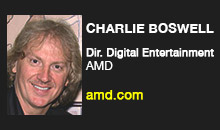 Digital Production Buzz - Charlie Boswell, AMD