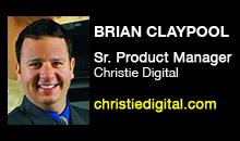 Digital Production Buzz - Brian Claypool, Christie Digital Systems, Inc.