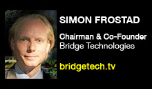 Digital Production Buzz - Simon Frostad, Bridge Technologies