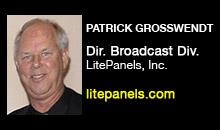Digital Production Buzz - Patrick Grosswendt, LitePanels, Inc.