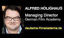 Digital Production Buzz - Alfred Holighaus, German Film Academy