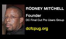 Digital Production Buzz - Rodney Mitchell, DCFCPUG