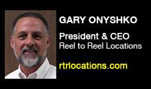 Digital Production Buzz - Gary Onyshko, Reel to Reel Locations