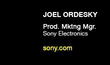 Digital Production Buzz - Joel Ordesky, Sony Electronics
