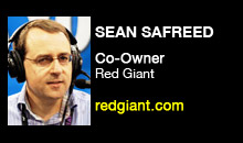 Digital Production Buzz - Sean Safreed, Red Giant