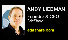 Digital Production Buzz - Andy Liebman, EditShare