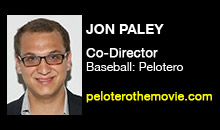 Digital Production Buzz - Jon Paley, Baseball: Pelotero