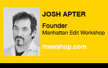 2012 NAB Show - Josh Apter, Manhattan Edit Workshop