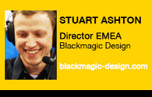 2012 NAB Show - Stuart Ashton, Blackmagic Design
