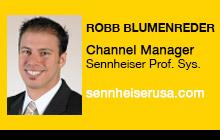 2012 NAB Show - Robb Blumenreder, Sennheiser Professional Systems
