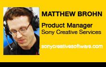 2011 NAB Show - Matthew Brohn, Sony Creative Services