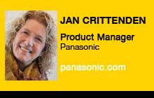 2011 NAB Show - Jan Crittenden, Panasonic