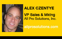 2011 GV Expo - Alex Czentye, All Pro Solutions, Inc.
