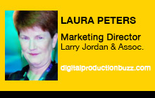 2012 NAB Show - Laura Peters, Larry Jordan & Associates, Barry Sandrew, Legend3D