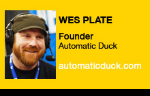 2011 NAB Show - Wes Plate, Automatic Duck