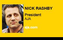2012 NAB Show - Nick Rashby, AJA