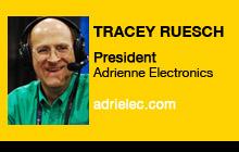 2011 NAB Show - Tracey Ruesch, Adrienne Electrics