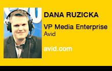 2012 NAB Show - Dana Ruzicka, Avid
