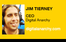 2012 NAB Show - Jim Tierney, Digital Anarchy