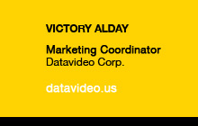 Victory Alday, Datavideo Corp.