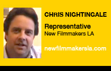 Christopher Nightingale, New Filmmakers Los Angeles