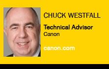 Chuck Westfall, Canon