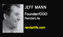 Jeff Mann, RenderLife
