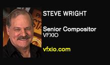 Steve Wright, VFXIO.com