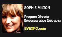 Sophia Milton, BVE 2013