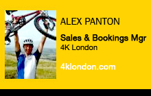 Alex Panton, 4K London